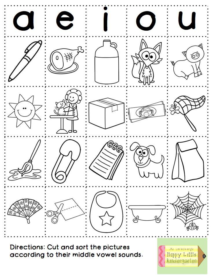 73 Best Vowel Practice Images On Pinterest Vowel