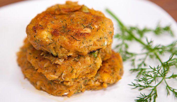 Sweet Potato, Avocado and Salmon Cakes - Good Chef Bad Chef