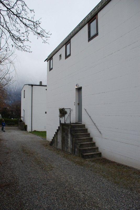 Peter Märkli - Two One-family houses