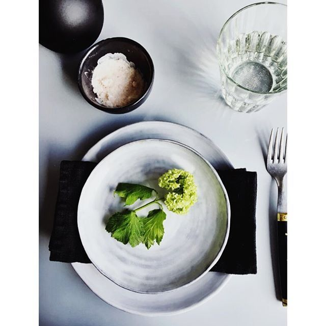 Deli ceramics from tinekhome styled and captured by @coffeetablediary