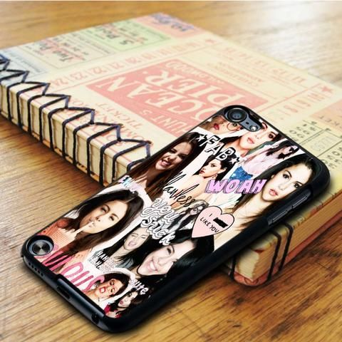 Selena Gomez Collage Idol Star iPod 5 Touch Case