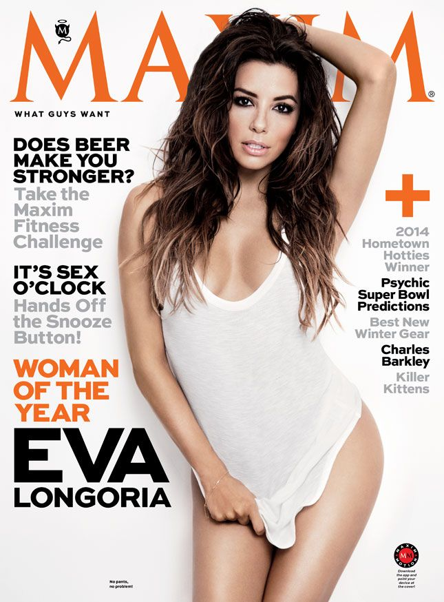 Eva Longoria named Maxim's 2014 Woman of the Year