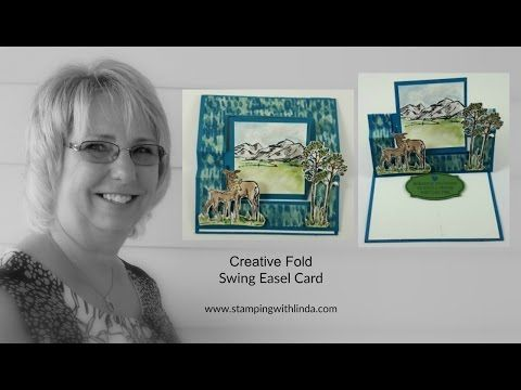 Creative Fold with Designer Series Paper Linda Bauwin - Your CARD-iologist Helping you create cards from the heart.