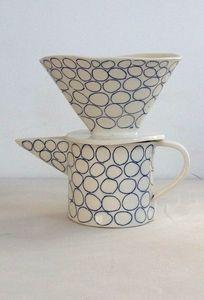 circles one cup coffee dripper @paula greif