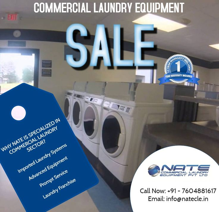 NATE Laundry is the sole distributor of LG Commercial Laundry Equipment and Speed Queen Commercial range in India.