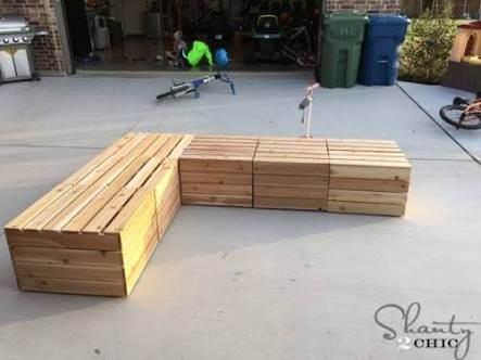 plan for wooden corner seats - Google Search