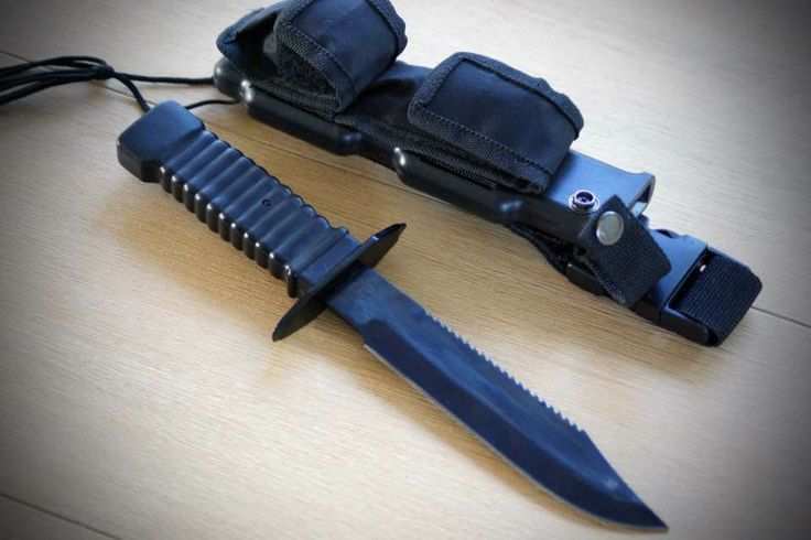 Special Ops survival combat knife.