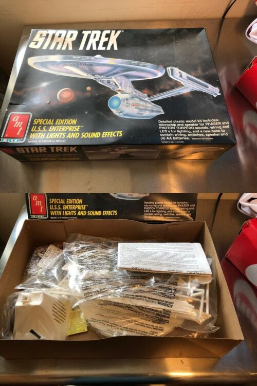 Star Trek 49211: Star Trek Uss Enterprise Model Kit 6957