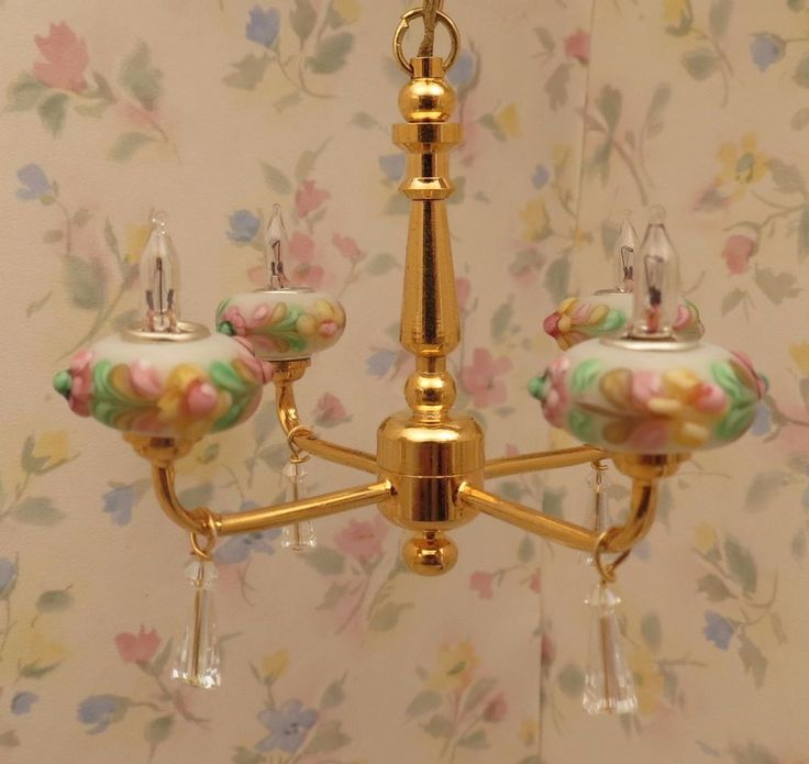Dollhouse Chandelier Tutorial: 68 Best Images About Dollhouse Lighting On Pinterest