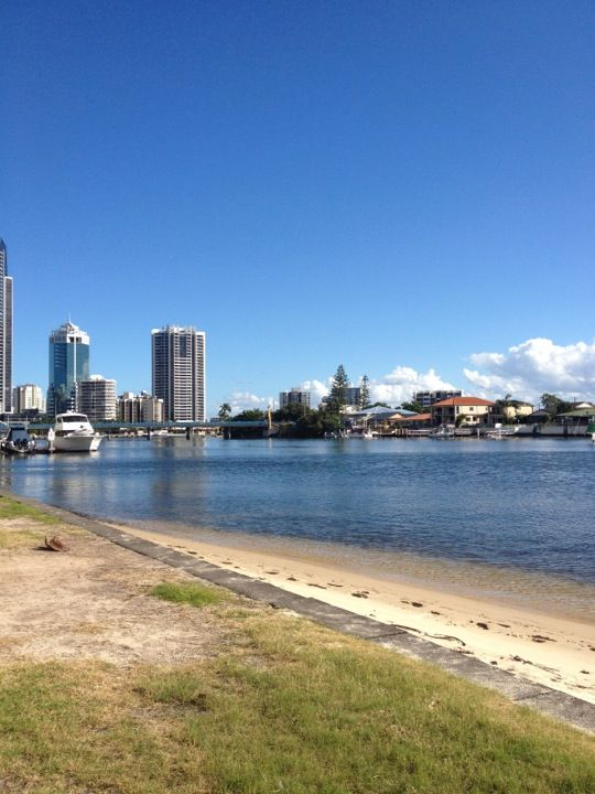 Budds Beach in Surfers Paradise, QLD