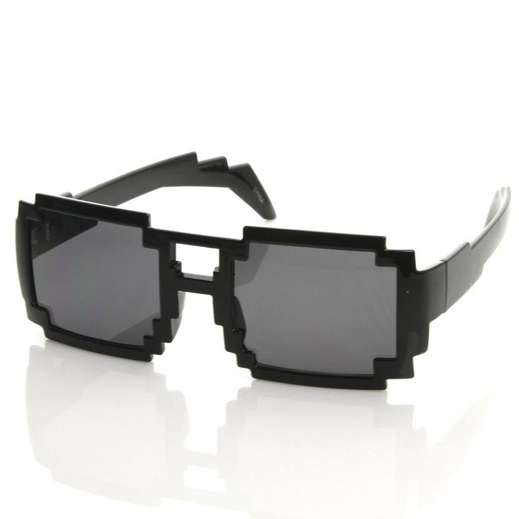 Nintendo Video Gamer Pixel Novelty Sunglasses 8573