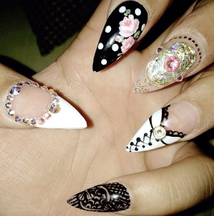 14 best nails images on Pinterest | Acrylic nail designs, Pretty ...
