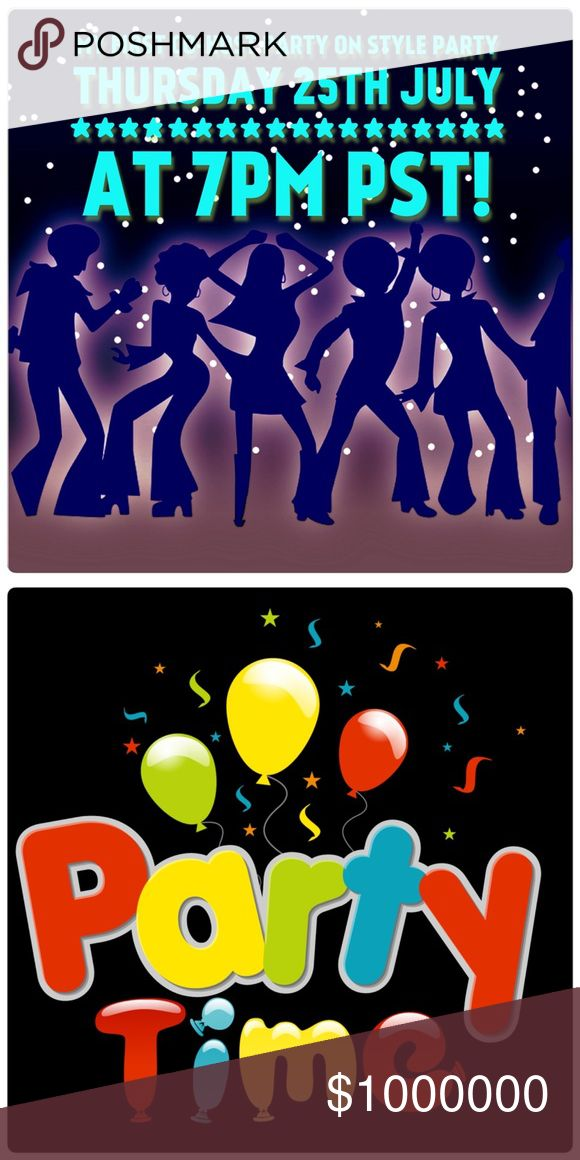 Co-Host Party on 7/25/1027 Excited to be first time Co-Host party. Please join me on Friday, August 25th at 12pm PT as I Co-host CategoryParties. If you have a closet or PFF's who follows Posh rules please tag them so I will search for some great Host Picks. 😊 Co-Host party Other