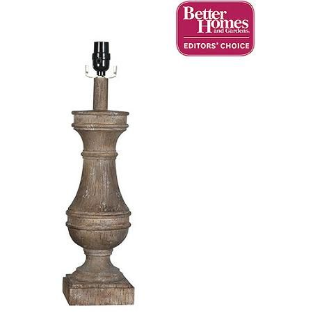 Better Homes and Gardens Rustic Lamp Base
