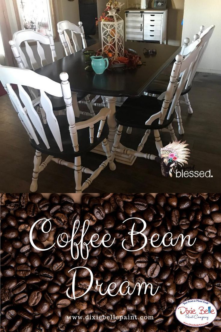 Coffee Bean Chalk Mineral Paint Painted Coffee Tables Chalk Paint Dining Table Chalk Paint Coffee Table