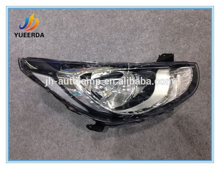 auto head light lamp for hyundai accent 2010 2011 12 sedan car spare parts