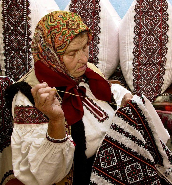 Mariya Genyk, Kosiv r-n, W Ukraine, from Iryna