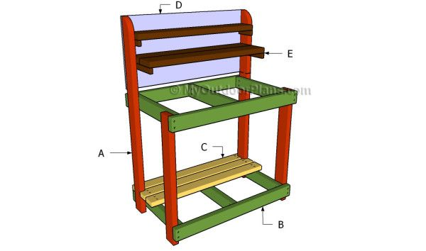 95 Best Images About Potting Bench Plans On Pinterest Gardens Potting Bench Plans And