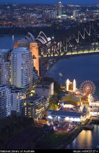Sydney night view