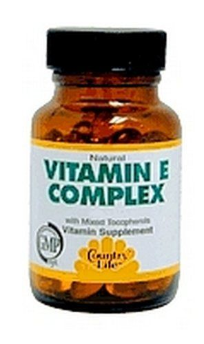 Country Life Vitamins - VITAMIN E COMPLEX 400 IU 90 Softgel * Check out this great product.