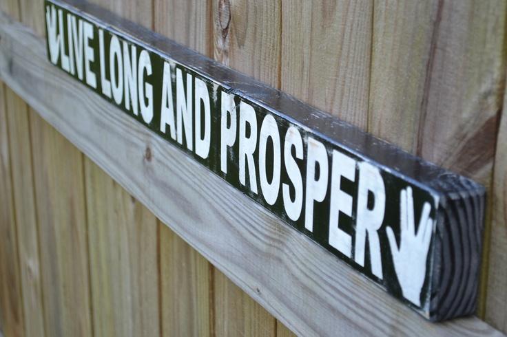 Wood Sign Home Decor Long