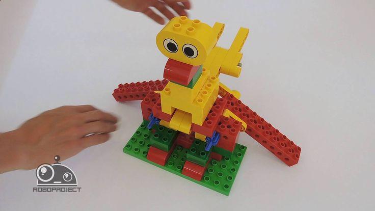 Лего Первые механизмы - Птица