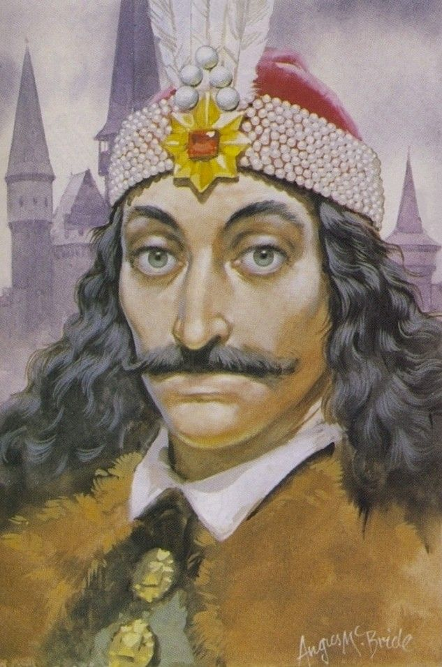 vlad the impaler by angus mcbride