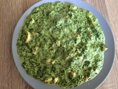 Koolhydraatarme recepten: Romige spinazie met kip en champignons