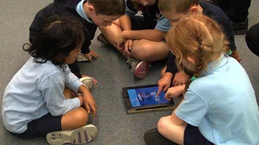 Junior Campus has access to iPads