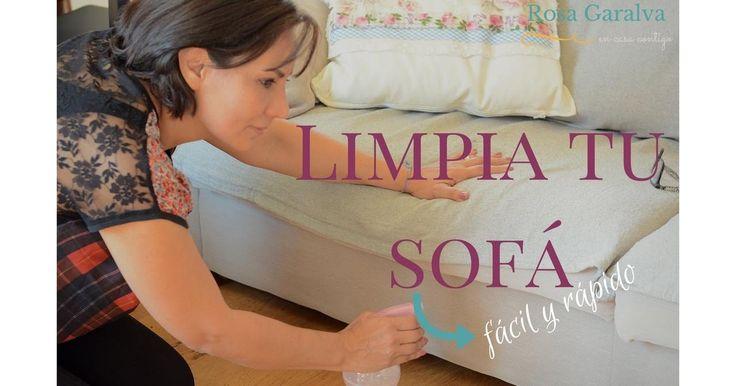 Cómo hacer un limpiador casero para tu sofá