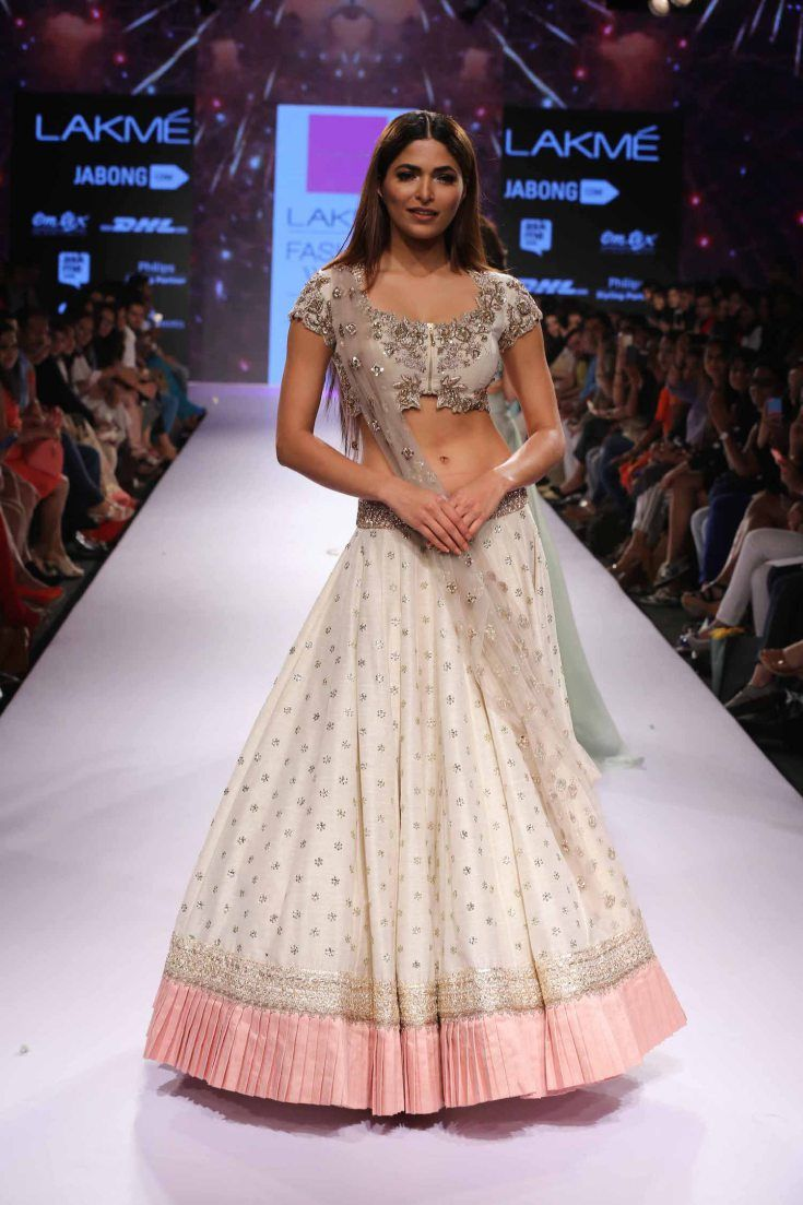 Anushree Reddy at Lakme Fashion Week Summer Resort 2015