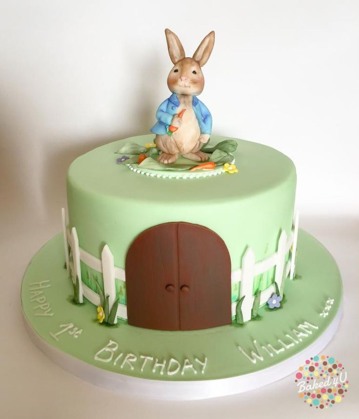 Birthday Cake Rabbit Images : 644 best images about Beatrix Potter Cakes on Pinterest ...