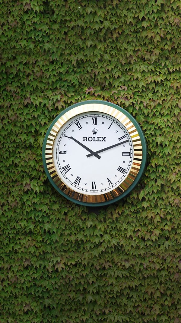 The partnership between Rolex and tennis dates back to 1978, when Rolex became the Official Timekeeper of The Championships, Wimbledon.