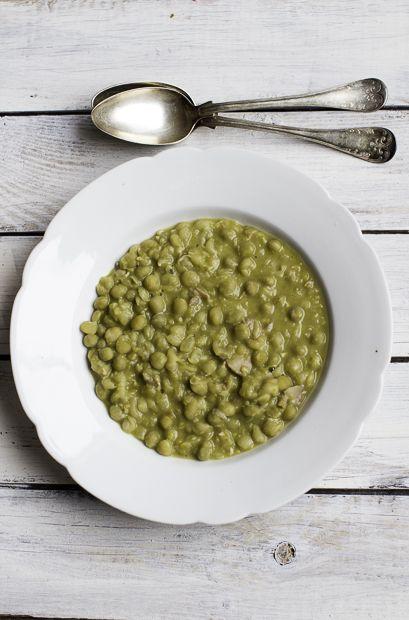 Pea soup. Food after christmas. http://www.jotainmaukasta.fi/2013/12/27/mita-joulusta-jai/