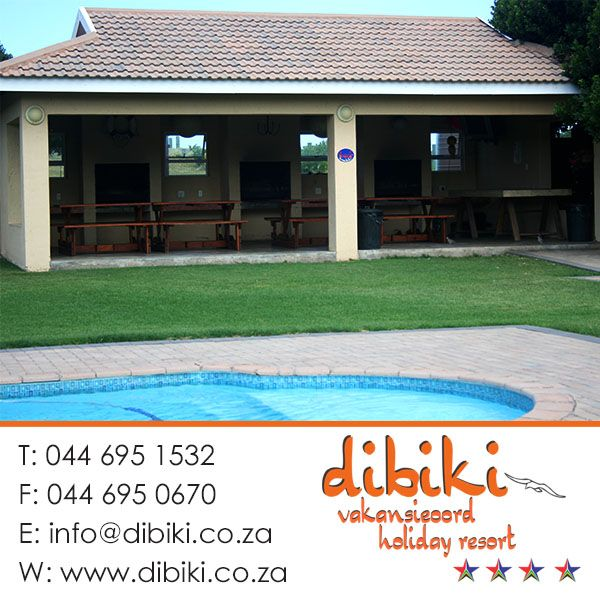 We have a big open braai facility where you and your family can spend time together and also enjoy the refreshing cold water of the pool.  #facilities #braaiarea #pool