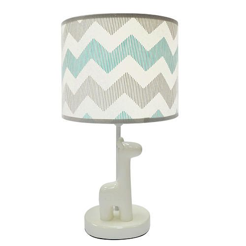 The Peanut Shell Uptown Giraffe Lamp with Shade