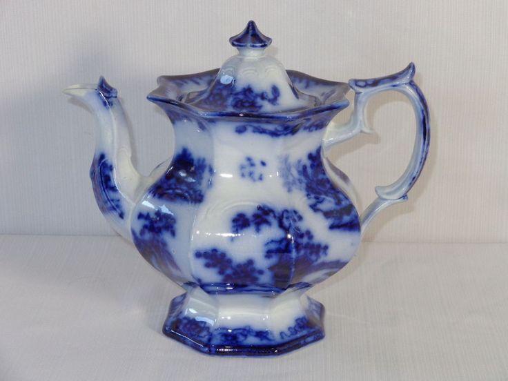 7242 Best Images About Flow Blue On Pinterest Tea Caddy