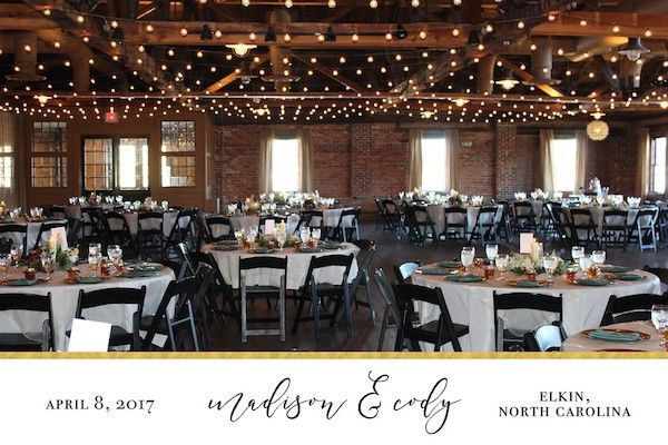 Behind the Scenes with TapSnap: A Destination Wedding in Elkin, NC
