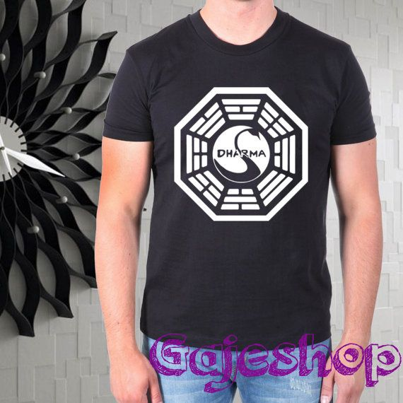 TheSwan Dharma Initiative men tshirt  size by gajeshop on Etsy