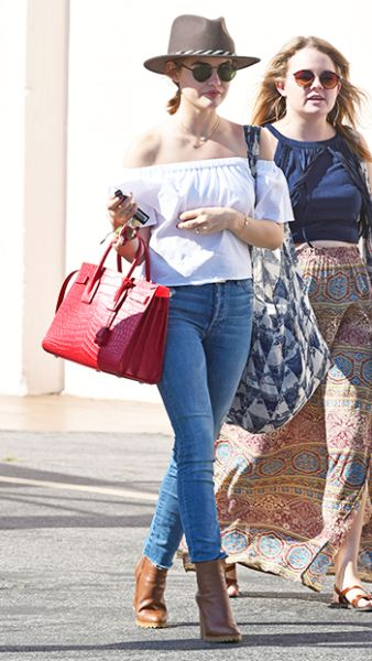 Lucy Hale out and about in Los Angeles - May 27, 2016