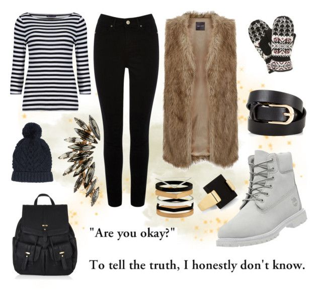 """""""Are you okay?"""" by nerdhumbug on Polyvore featuring Pixie, Oasis, Timberland, Isotoner and Accessorize"""