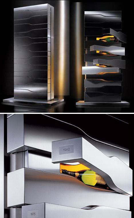 Avant-Garde Wine Storage Wine Rack http://www.squidoo.com/reading-wine-bottle-labels