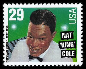 "Nat ""King"" Cole (1919-1965) first came to prominence as a notable jazz pianist with his own King Cole Trio in the late 1930s. Cole later became a vocalist, lending his easy-going style of singing and a husky voice to songs such as ""Straighten Up and Fly Right,"" ""It's Only a Paper Moon,"" ""For Sentimental Reasons,"" and ""Mona Lisa."""