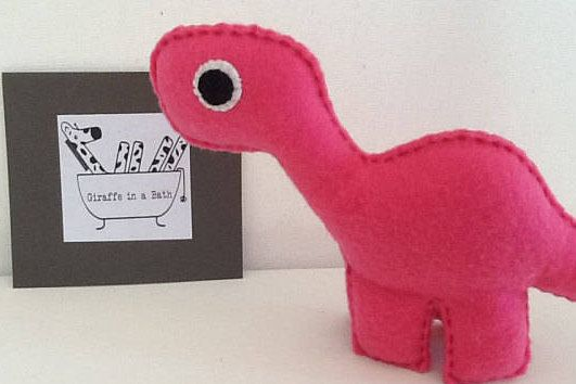 Diplodocus Dinosaur DIY Sewing Craft Kit-Stocking filler-make your own, Dinosaur Gift, Make It Yourself, Sew Your Own, Felt Pieces, Toy Eyes by GiraffeinaBath on Etsy