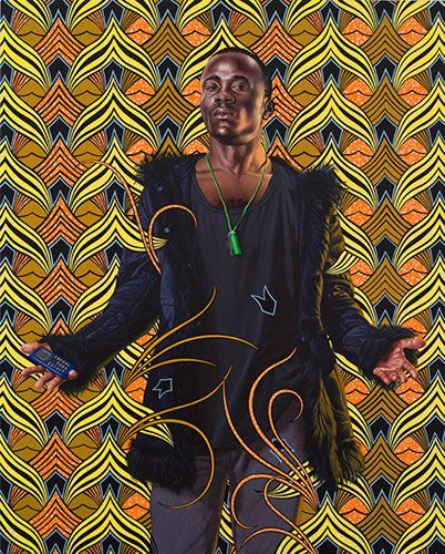 Kehinde Wiley -Bonaparte-in-the-Great-Mosque-of-Cairo