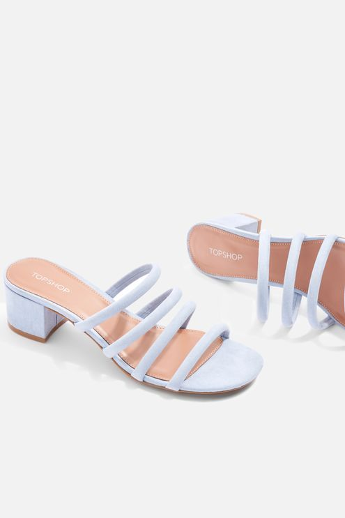 d7546dd3b3 Diana Strappy Mules Mules Shoes, Heeled Mules, Sandals, Occasion Wear,  Occasion Dresses