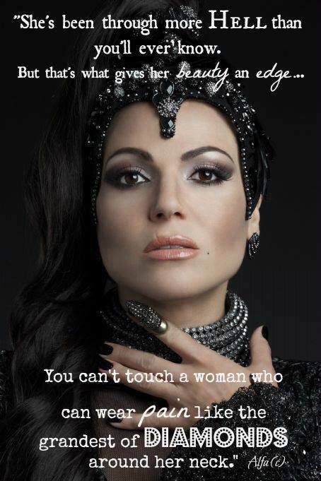Awesome Evil Queen Regina Once S4 awesome close up