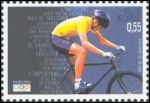 Timbre sur les Jeux olympiques de 2004, Belgique #vélo