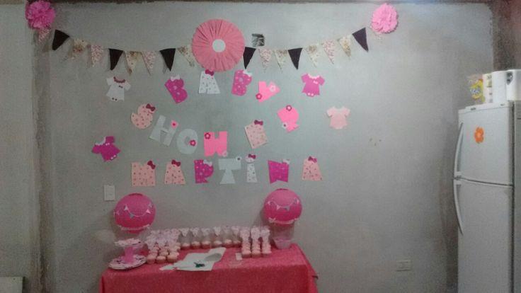 Mesa baby shower Nena!