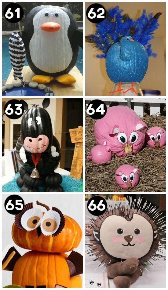 Halloween Pumpkin Designs Without Carving Part - 36: 150 Pumpkin Decorating Ideas - Fun Pumpkin Designs For Halloween
